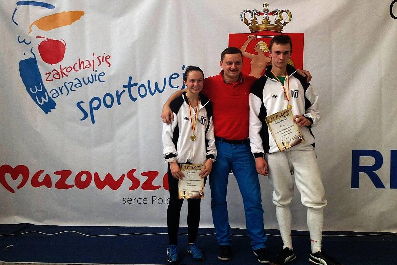 szermierka warszawska olimpiada młodzieży