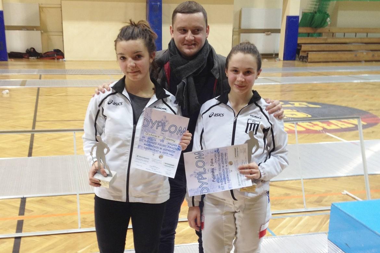 Złoto na III Pucharze Polski juniorów młodszych w szpadzie