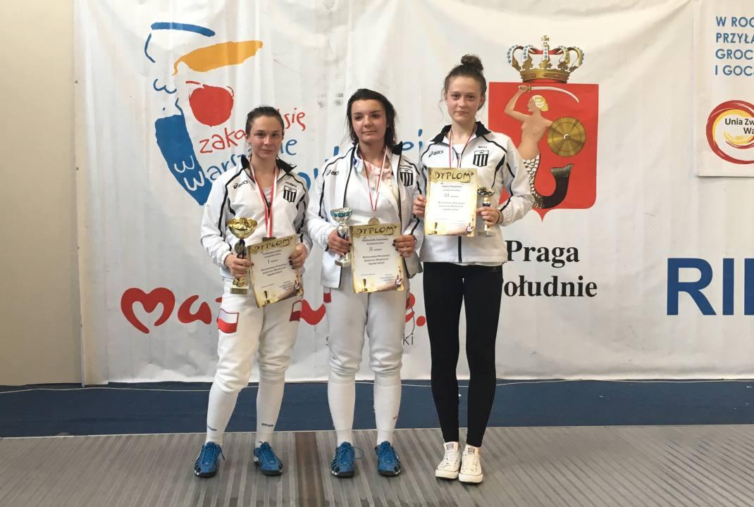 Otwarte Mistrzostwa Warszawy i Mazowsza w Szermierce