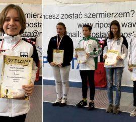 Szpada dzieci Warszawska Olimpiada Młodzieży