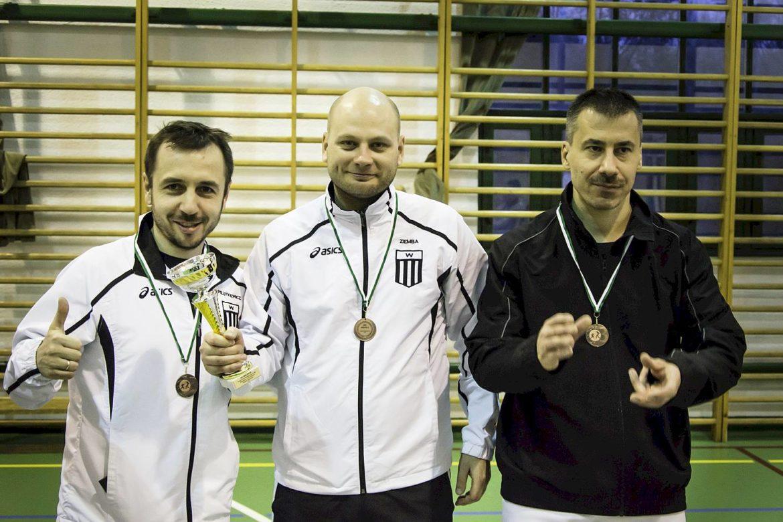 Brązowy medal na Drużynowych Mistrzostwach Polski Weteranów