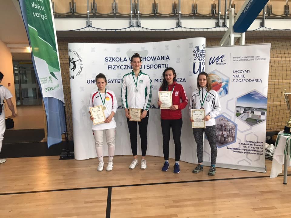 W Akademickim Pucharze Polski w szermierce Anna Kica zajęła 3 miejsce.