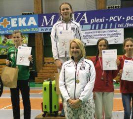 Karolina Szymanowska Mistrzynią Polski młodzików!