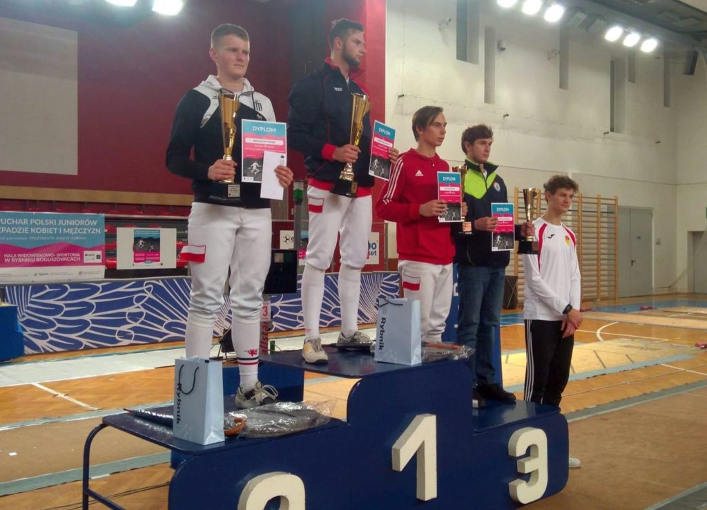II miejsce Wojciecha Ćwięki na Pucharze Polski Juniorów