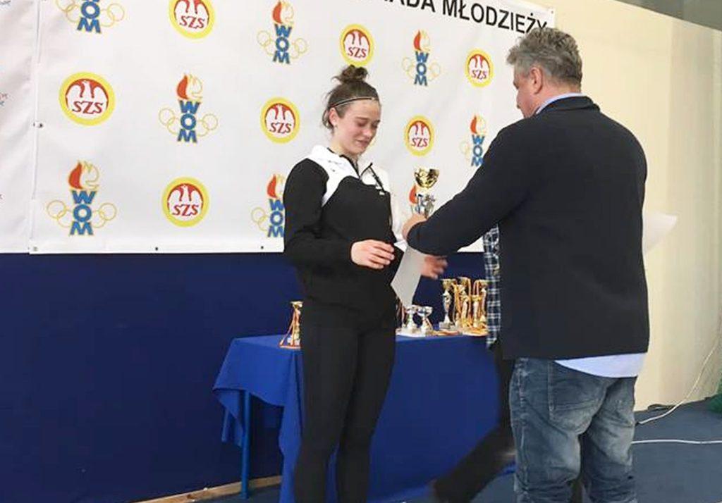 Sukces Warszawianki na Warszawskiej Olimpiadzie Młodzieży