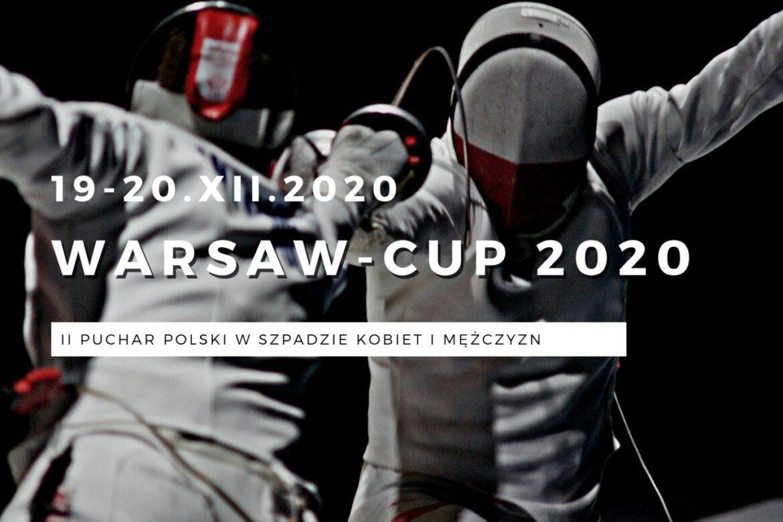 Warsaw Cup 2020 turniej szermierzy w spadzie kobiet i mężczyzn